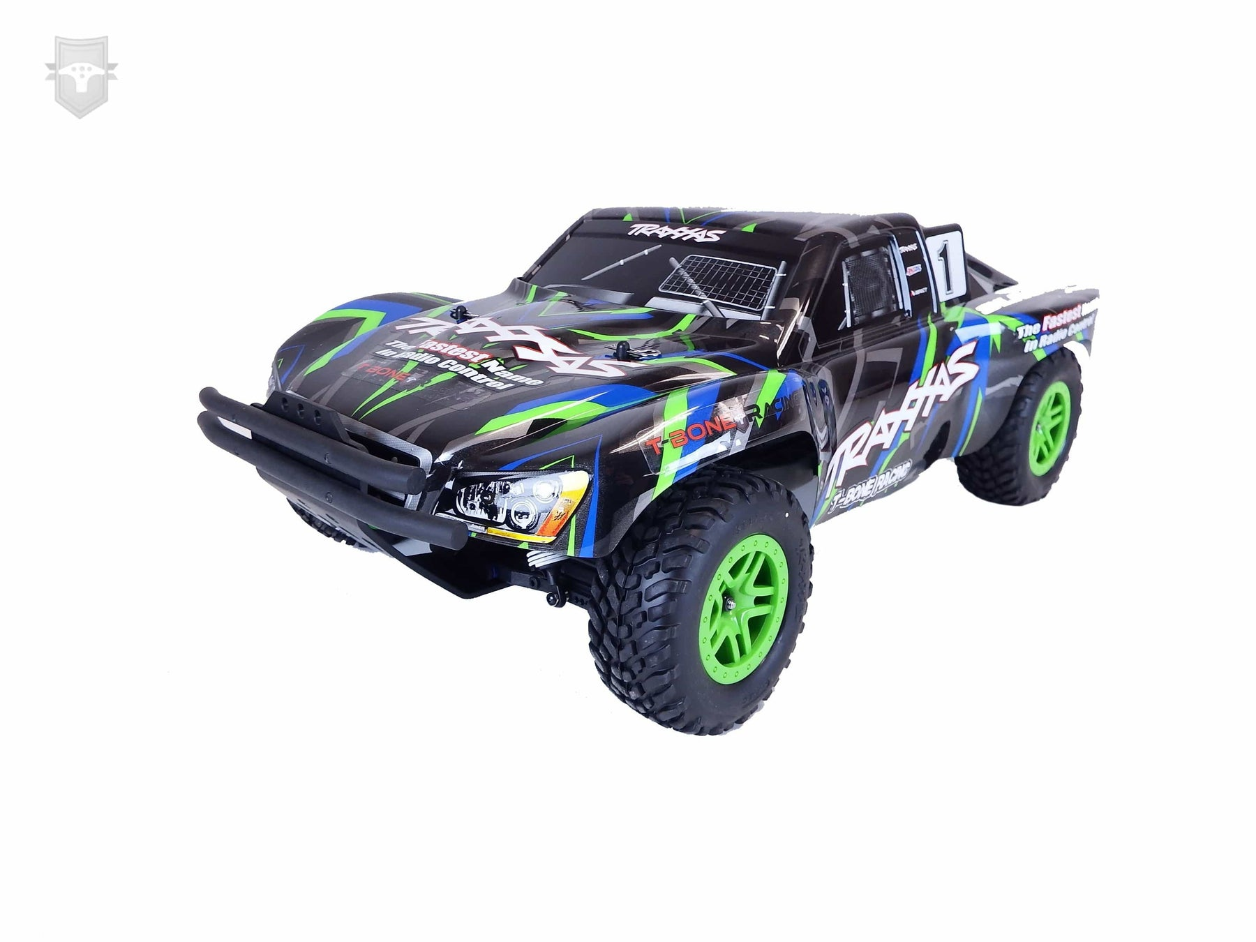 62033 - TBR XV4 Series Short Course Front Bumper - Traxxas Slash 4x4