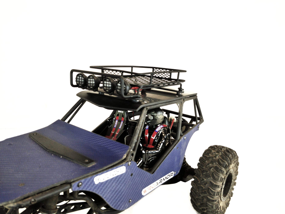 12065 - TBR Roof Rack w/ LED Light Set - Axial Wraith Spawn