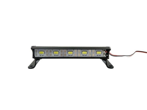 "1/10 Rock Crawler, Bomber, Wraith, SCX10 3.5"" Waterproof Aluminum 5 LED Roof Light"