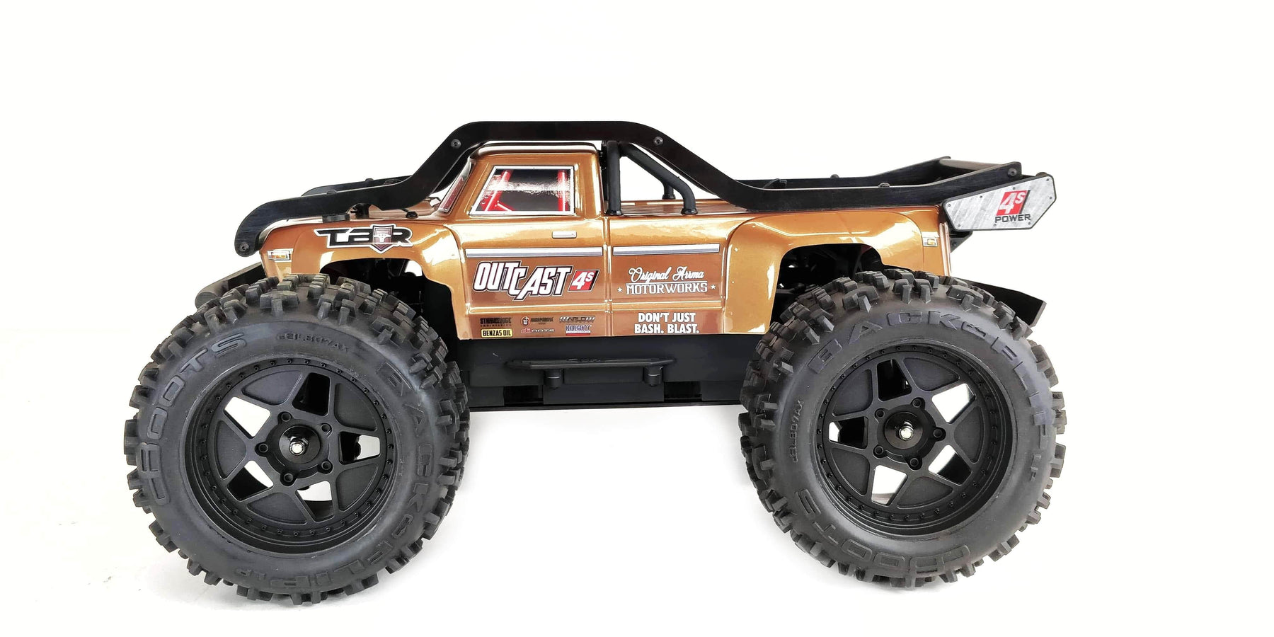 10118 - TBR R1 'EXO Cage' External Roll Cage - Arrma Outcast 4S