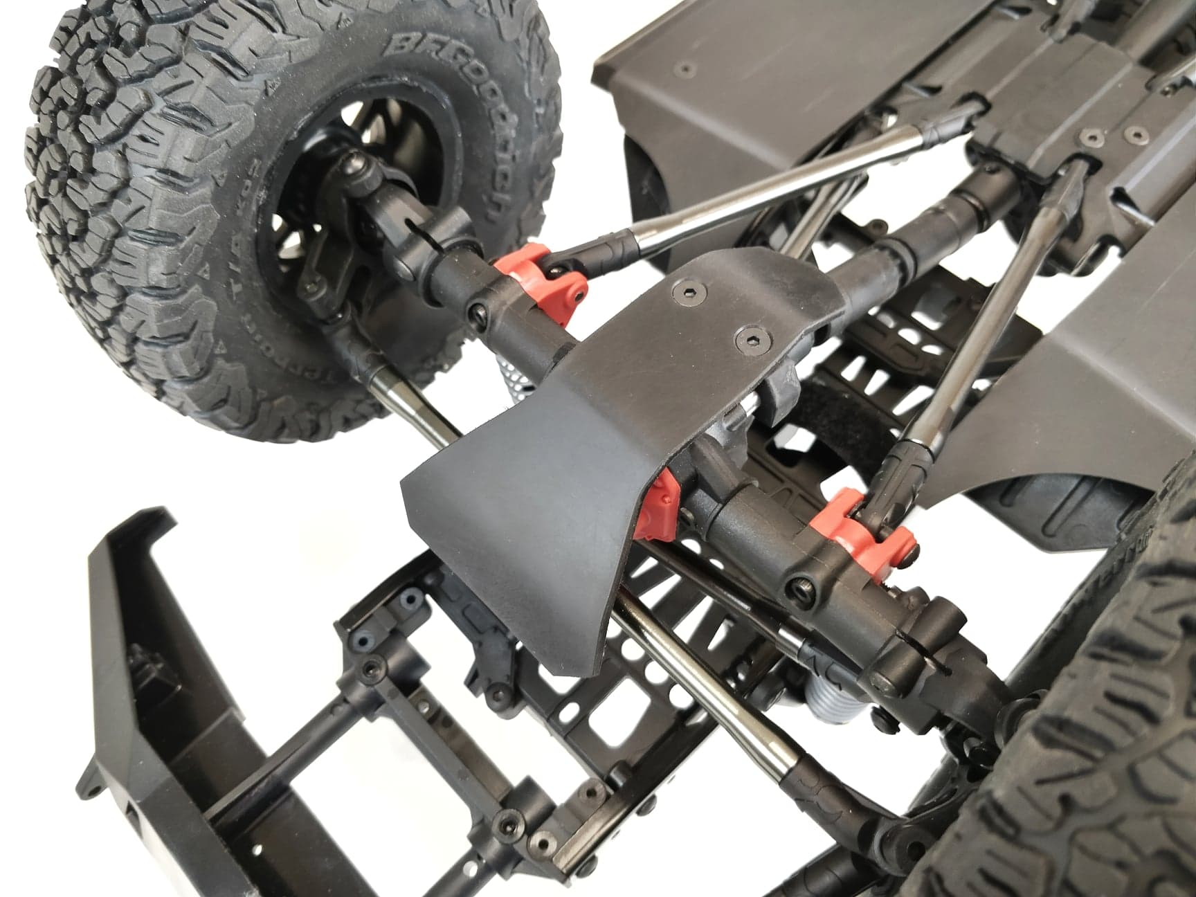 TBR Front Differential Skid Plate - Axial SCX10 II - 12067