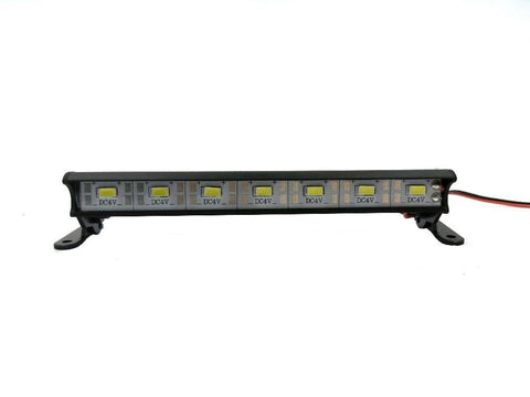 "1/10 Rock Crawler, Bomber, Wraith, SCX10 4.78"" Waterproof Aluminum 7 LED Roof Light"