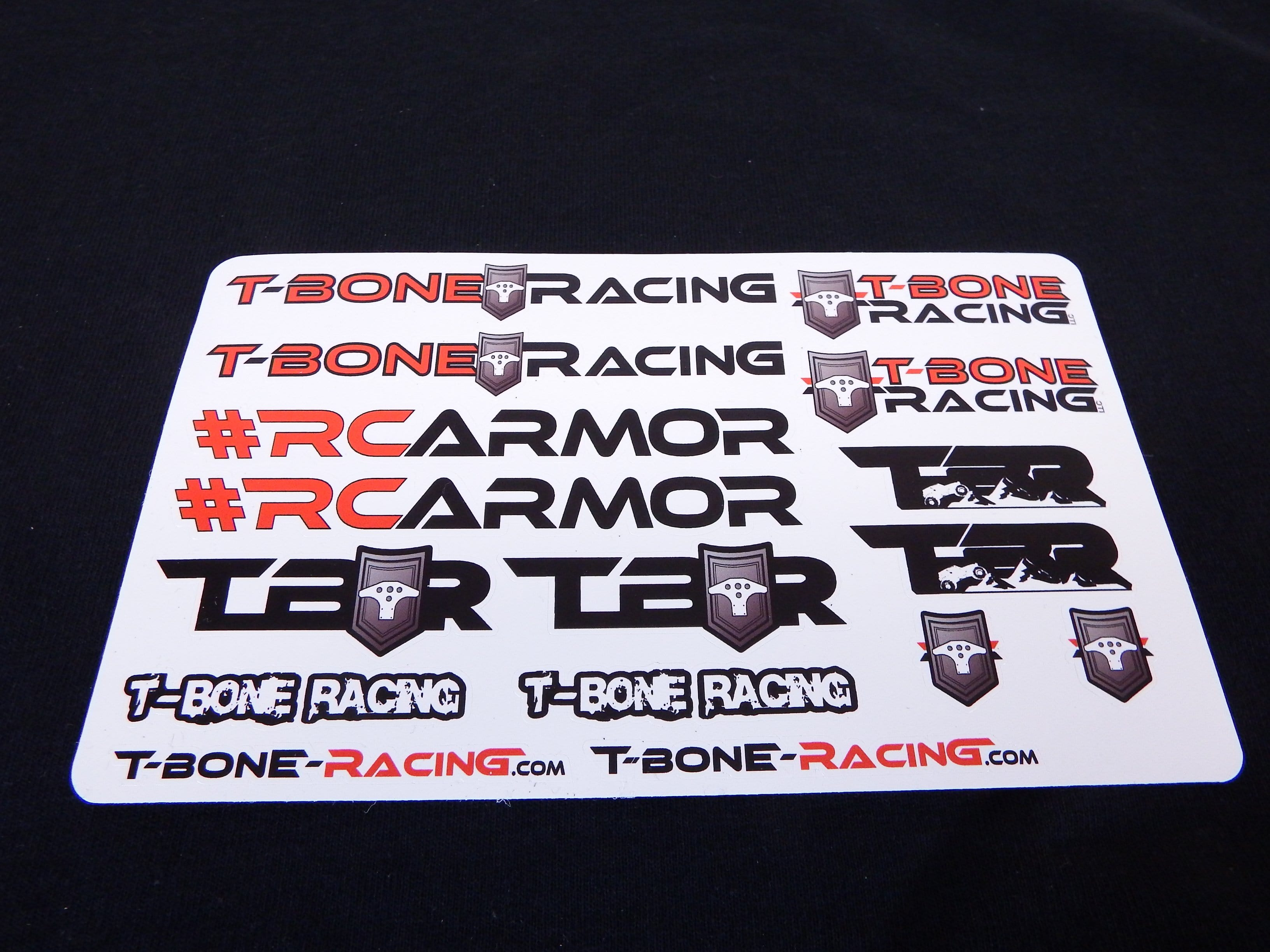 "2019 RC Armor Sticker Sheet 6x4"" - 85098"