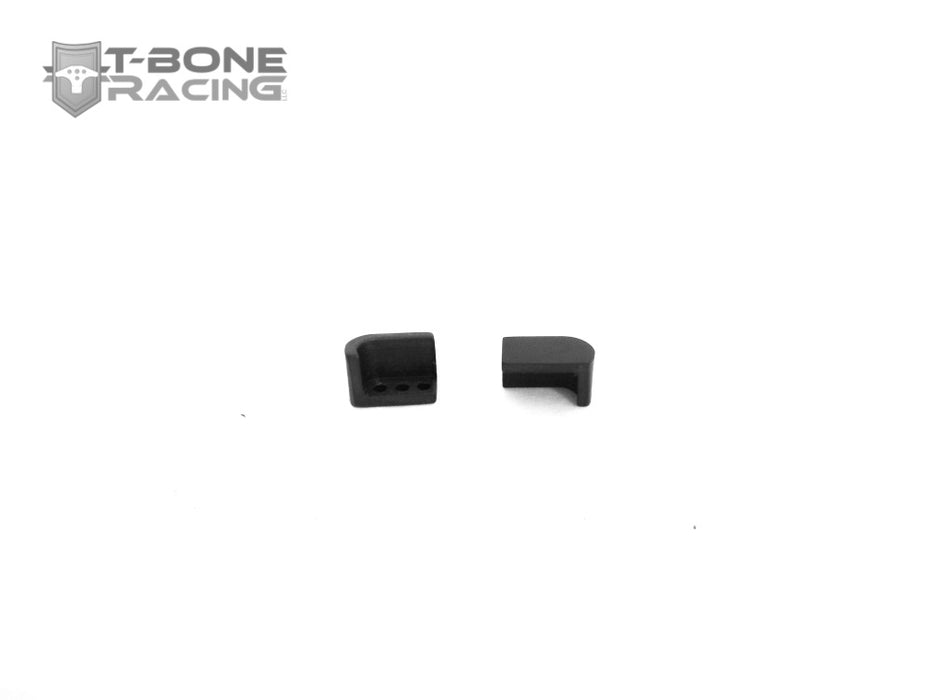TBR T-Caps Front Shock Guards -- Associated B5, B4, Kyosho RB6 Ready Set - 96115