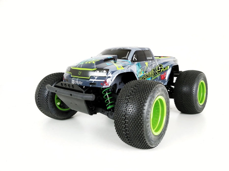 TBR XV6 Front Bumper -- HPI Savage XS Flux