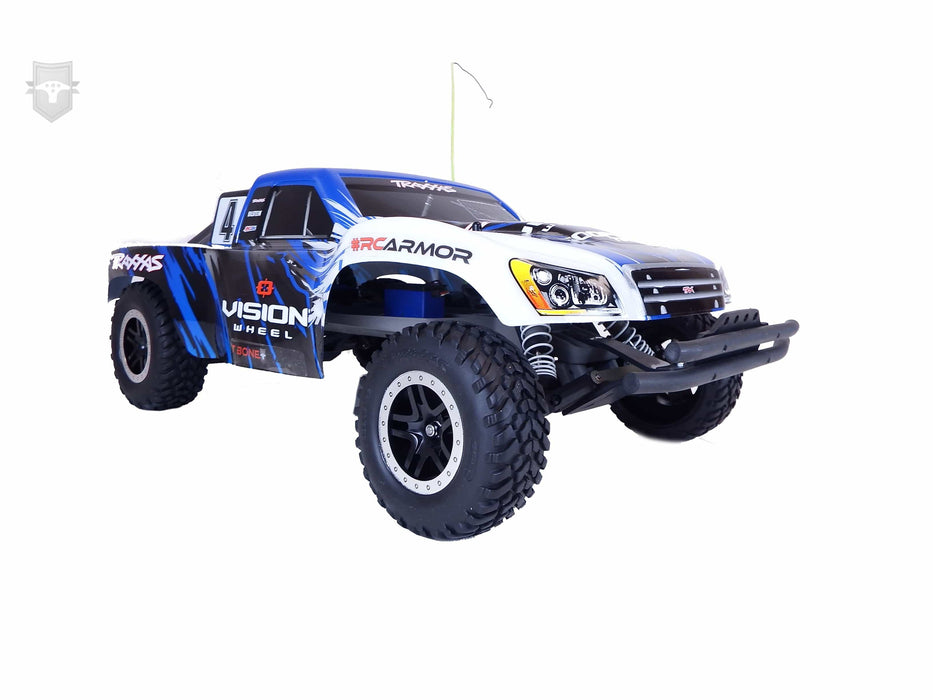 62014 - TBR XV4 Series Short Course Front Bumper -- Traxxas Slash, LCG