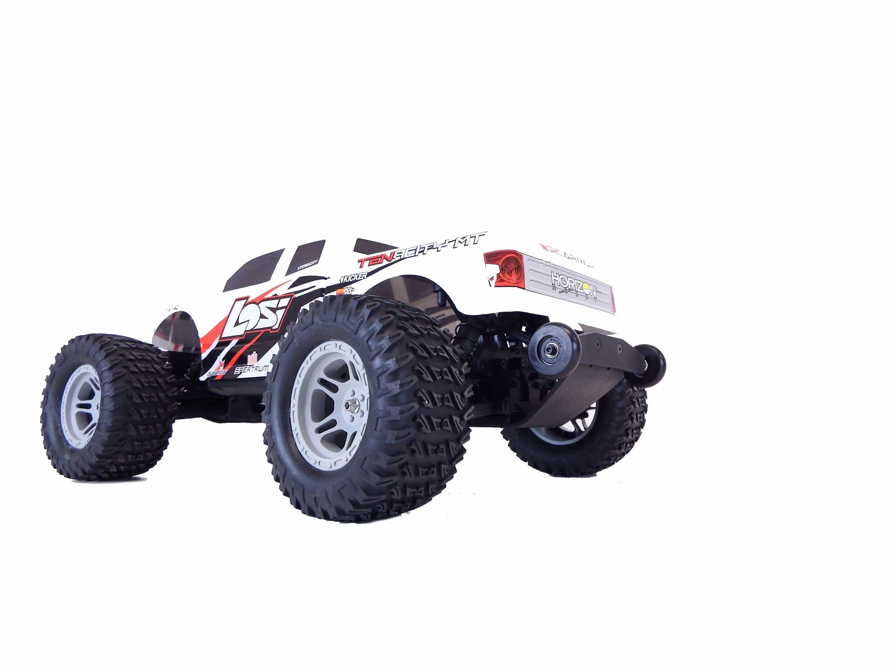 37217 - TBR Rear Bumper & Wheelie Bar Set - Losi TENACITY MT