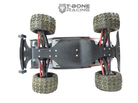 TBR 4pc Chassis Brace / Wheelie bar set -- Traxxas 1/16 E-Revo - 62092