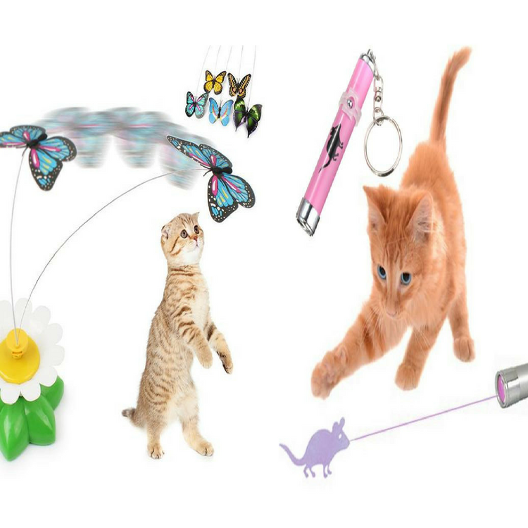 Cat Led Mouse Toy