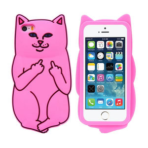 Reckless Cat iPhone Case
