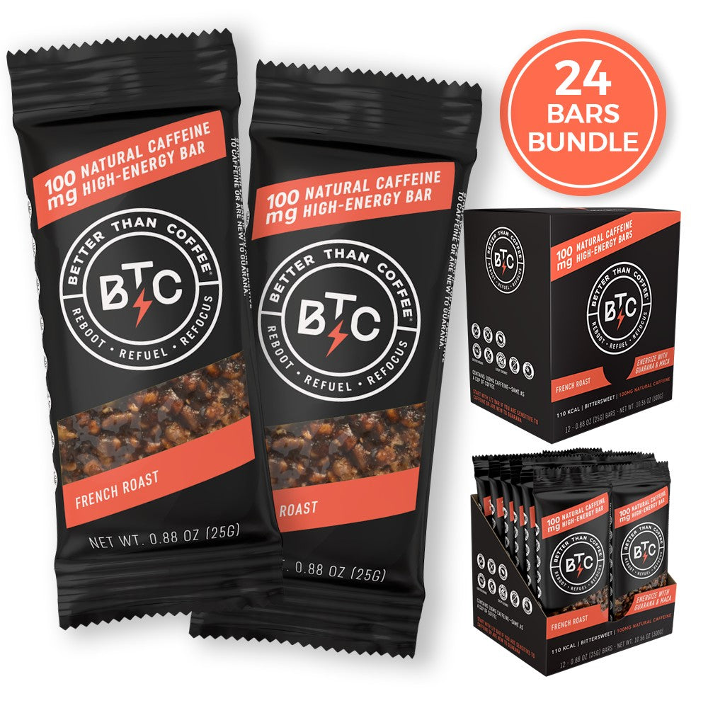 24 Bars [French Roast Flavor]