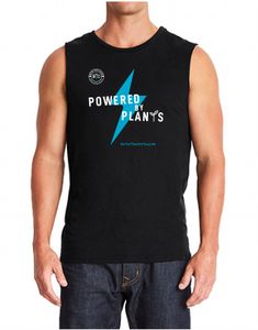 """Powered By Plant"" Men's Muscle Tank (Next Level 6333)"
