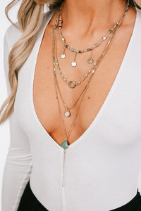 Turquoise Layered Necklace