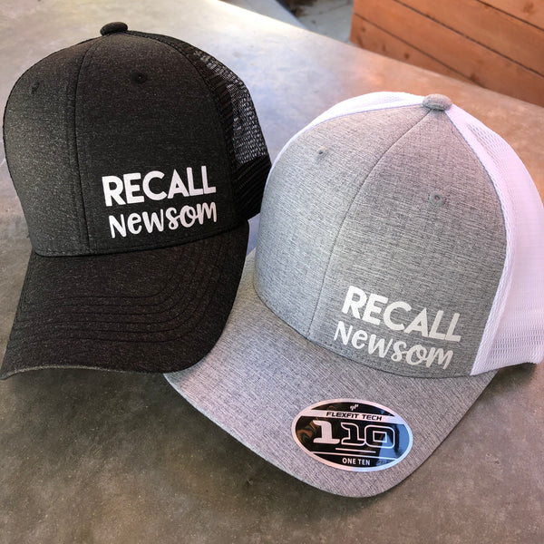 Recall Newsom Trucker Hats
