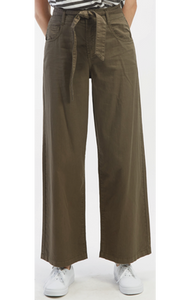 Oat NYC High Rise Wide Leg Pant