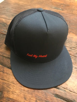 Feel My Heart Trucker Hat