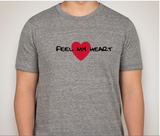 Feel My Heart Short Sleeve Tshirt