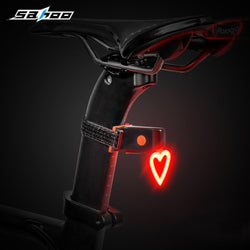 Heart Shape Bicycle Rear Light