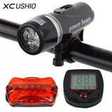 Bicycle Speedometer and 5 LED Mountain Bike
