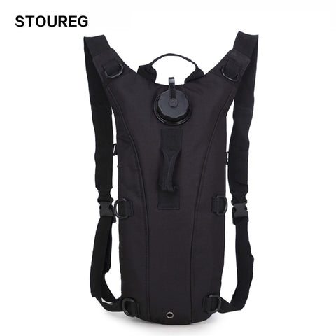 3L Military Tactical Hydration Backpack, Camping, Nylon Camel Water Bladder Bag For Cycling