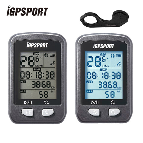 IGPSPORT GPS Computer Waterproof IPX6 Wireless Speedometer