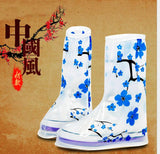 2 pairs reusable Rain shoes cover waterproof Boots Cycle Rain Flat Slip-resistant Overshoes