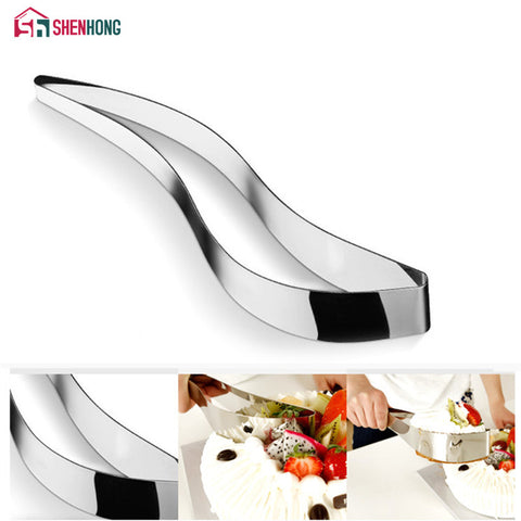 Cake Slicer Server Stainless Steel Cake Cutters Cookie Fondant Dessert Tool