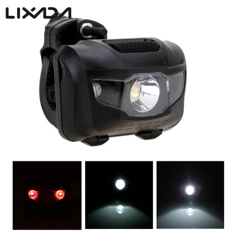 LED Bicycle Light MTB Bike Front Rear Light ABS Head Tail Taillight Warning Lights Flashlight for Bike Cycling Accessories