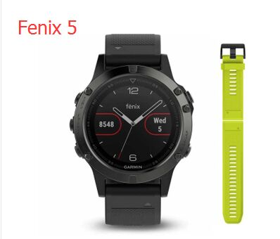 Garmin Fenix 5 sapphire Multisport Outdoor climbing running cycling GPS Watch