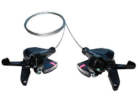 SHIMANO Altus SL-M310 3x8 3x7 21 24 Speed Shifter Trigger Set Rapidfire Plus w/Shifter Cable