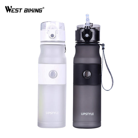 WEST BIKING Bicycle Water Bottle Portable Leak-Proof