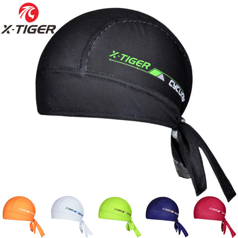 2018 X-Tiger Brand 100% Polyester Breathable Cycling Headwear