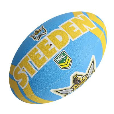 Gold Coast Titans Steeden Supporter Football - Large