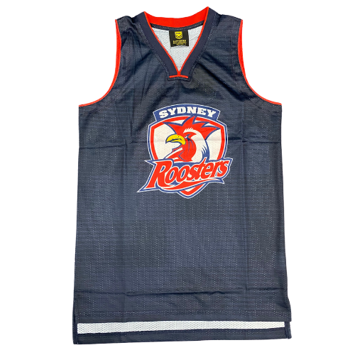 Sydney Roosters Mens Basketball Singlet