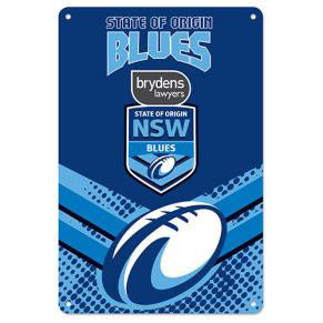 NSW Blues Retro Tin Sign