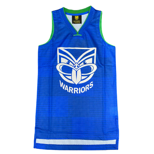 NZ Warriors Sharks Mens Basketball Singlet