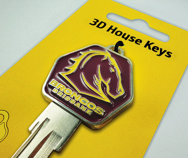 Brisbane Broncos House Key