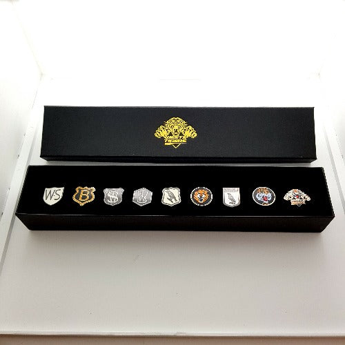Wests Tigers Evolution Pin Set
