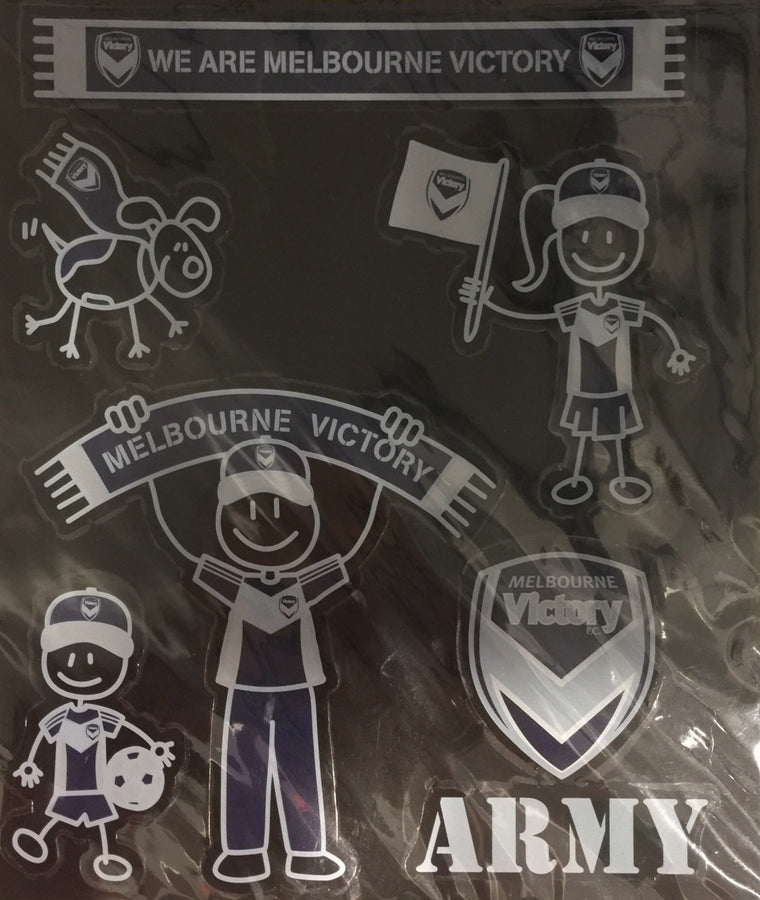 Melbourne Victory My Family Stickers