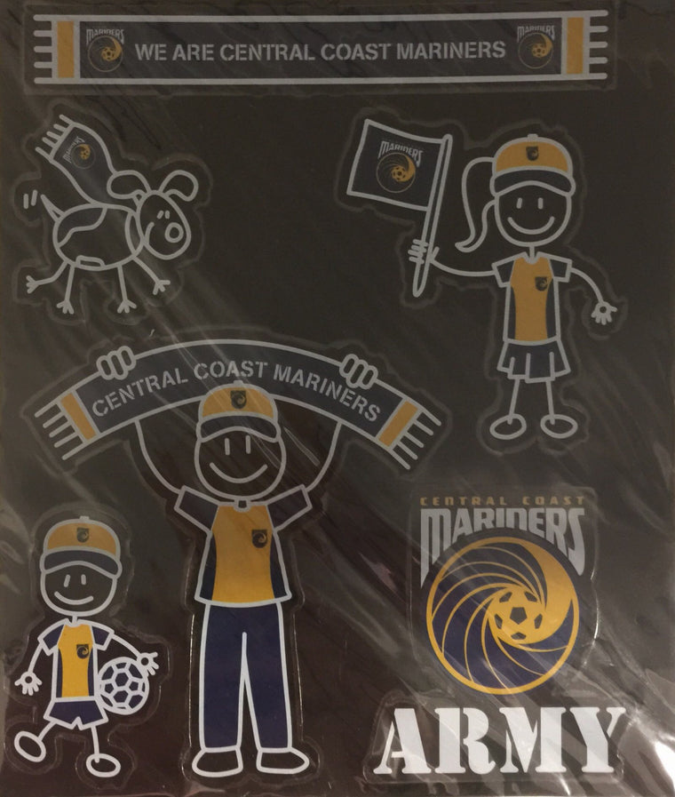 Central Coast Mariners My Family Stickers