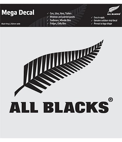 All Blacks Car Logo Sticker - Black