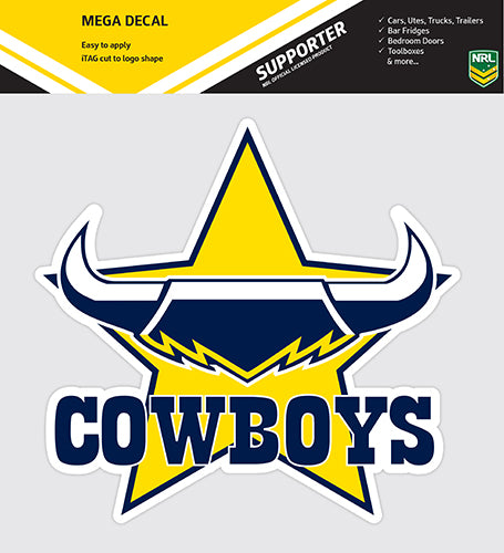 North Queensland Cowboys Logo Sticker
