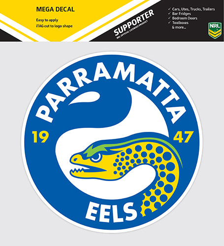 Parramatta Eels Car Logo Sticker