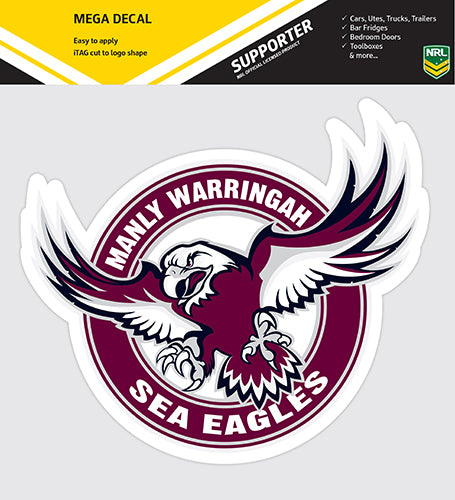 Manly Sea Eagles Car Logo Sticker