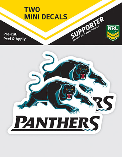 Penrith Panthers Car Stickers Mini (2pk)