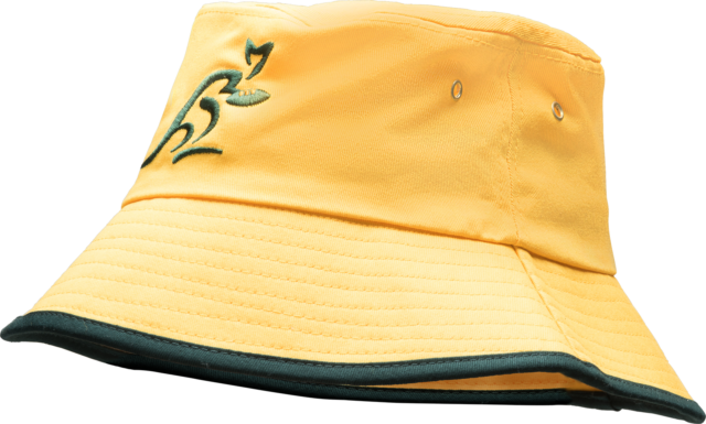 Wallabies Supporter Bucket Hat - Gold