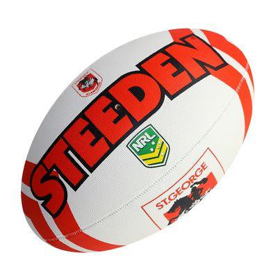 St George Illawarra Dragons Steeden Supporter Football - Small