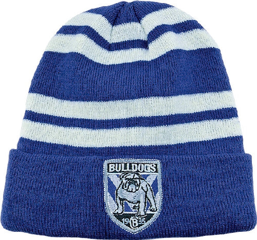 6cd50d675bc Canterbury Bulldogs Beanie - Striped