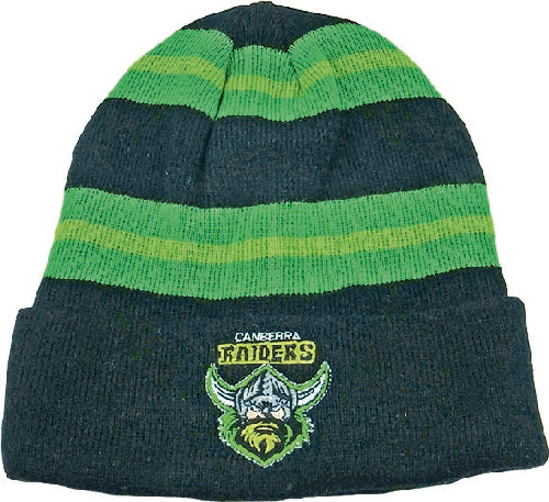 Canberra Raiders Beanie - Striped