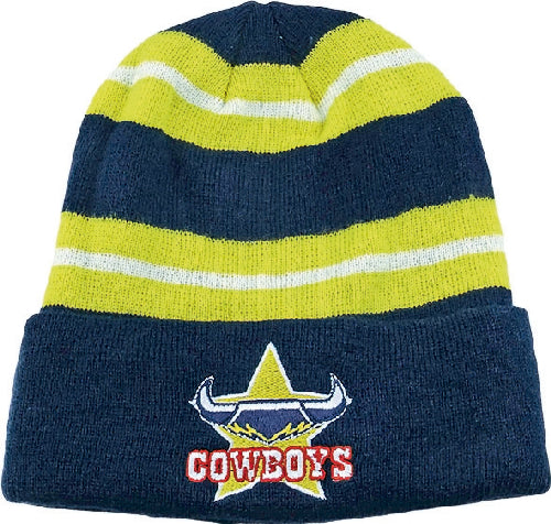 North Queensland Cowboys Beanie - Striped